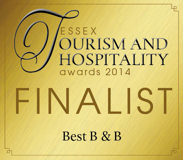 Finalist in the Essex Tourism and Hospitality Awards 2014
